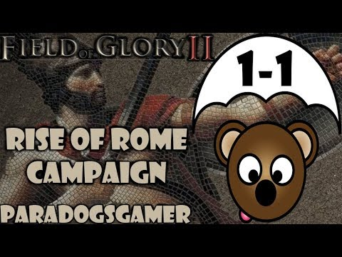 Field of Glory 2 (beta) | Rise of Rome Campaign | Battle 1 | Part 1