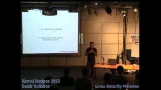 Samir Bellabes - Linux Security Modules