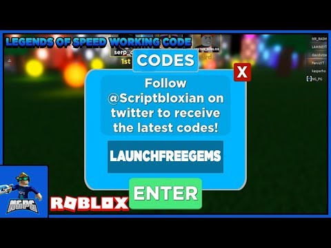 WORKING LAUNCH CODE FOR LEGENDS OF SPEED! (Roblox)