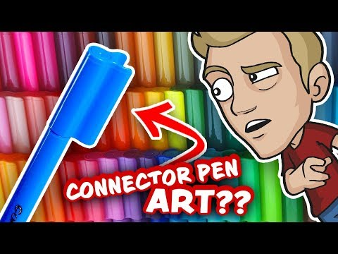 Can CONNECTOR PENS make EPIC ART?