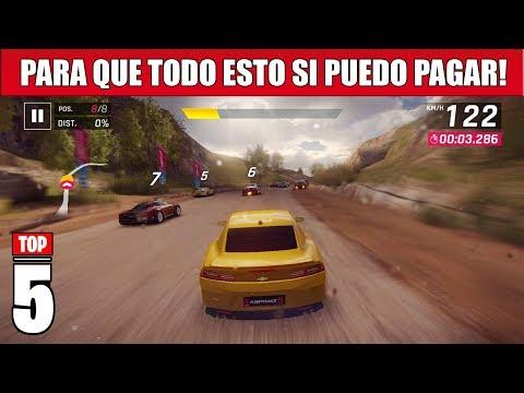 TOP 5 Juegos ANDROID más PAY TO WIN