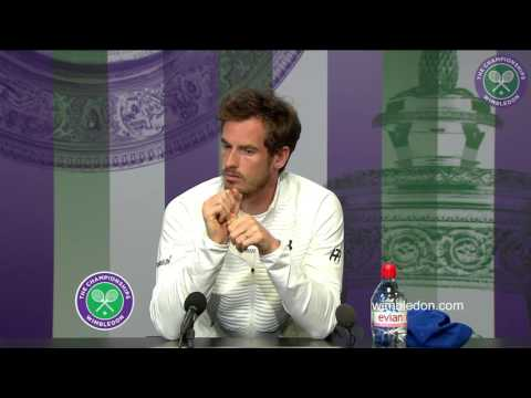 Andy Murray pre-Championships press conference