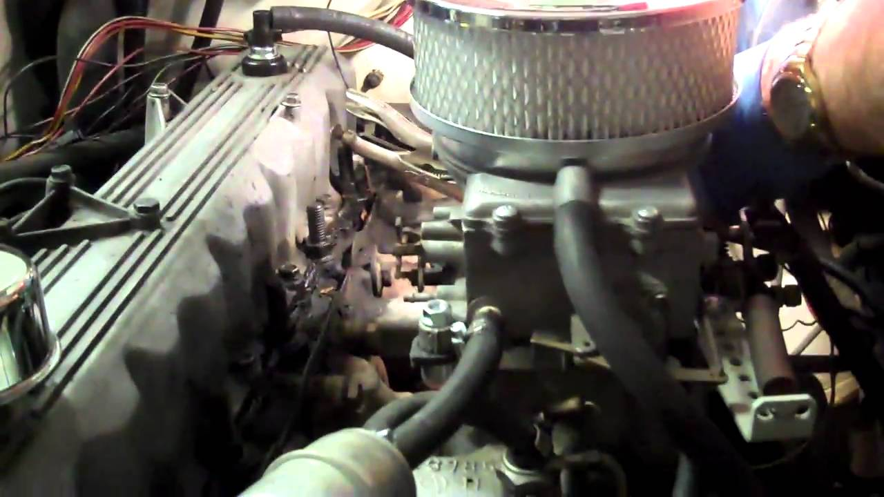 jeep - motorcraft 2150 carb  upgrade  1