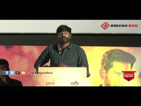VIJAYSETHUPATHI EMOTIONAL TALK ABOUT TAMILROCKERS | YEMAN AUDIO LAUNCH