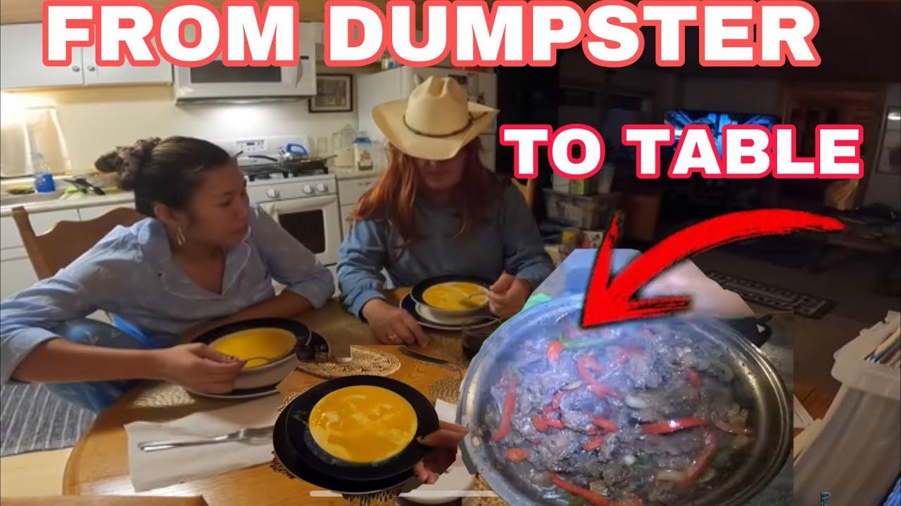 DUMPSTER DIVING NAKAKAIN KAME NG MASASARAP AT MAMAHALIN FOODS DAHIL SA PAG  BABASURA