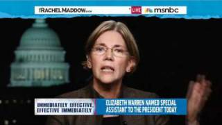 Rachel Maddow- Elizabeth Warren on policing the credit industry