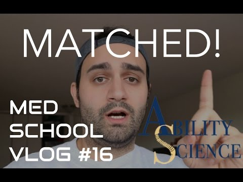 MATCHED PM&R & ADVICE ABOUT THE MATCH PROCESS | MED SCHOOL VLOG #16