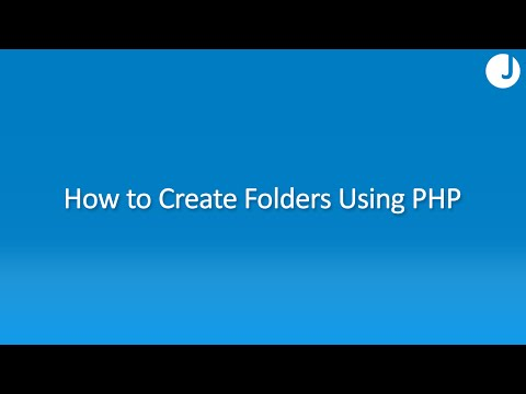 How to Create a Folder Using PHP