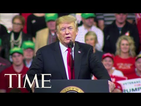 Trump Rally Crowd Chants \'Lock Her Up!\' About Senator Dianne Feinstein | TIME