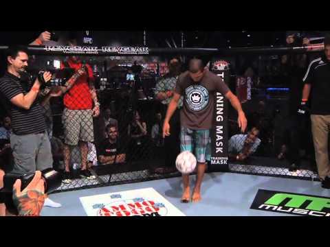 Aldo and Florian Go Kick for Kick Inside the Octagon