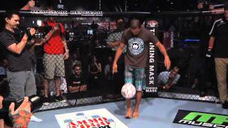 Aldo and Florian Go Kick for Kick Inside the Octagon