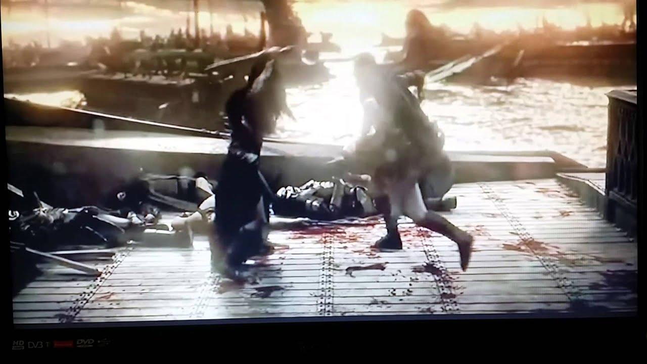 300 Artemisia's death real scene - YouTube