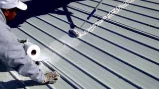 Installing Uniflex Patching Cement