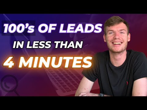 How To Find Unlimited Leads For Your Agency Using D7L Lead Finder