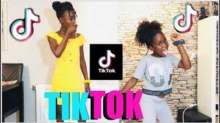 MY COUSIN TEACHES ME TIKTOK DANCES !!! FUNNY MEMES ( SEMI- CRINGE)
