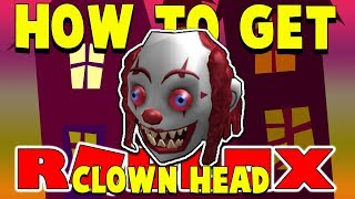 [ROBLOX EVENT] How To Get the Clown Head - Roblox 2018 Halloween Event - Within 60 Seconds