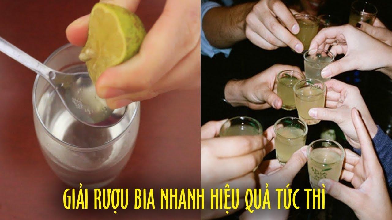 3 Cách Giải Rượu Bia Nhanh Hiệu Quả Tức Thì Cho Người Bị Say Lại Cực Dễ Để Làm