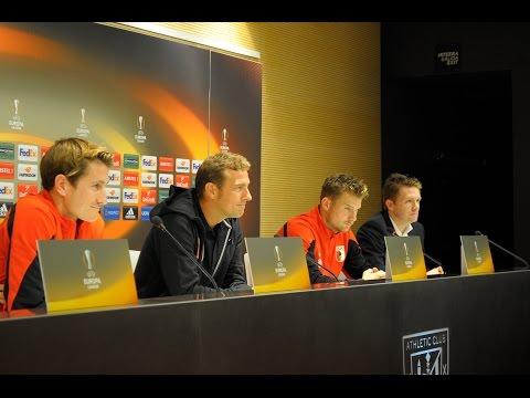 FC Augsburg: Pressekonferenz vor Athletic Bilbao
