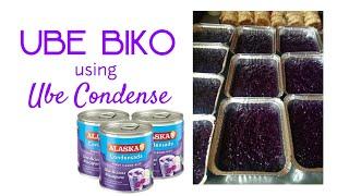 UBE  BIKO using Ube Condensada
