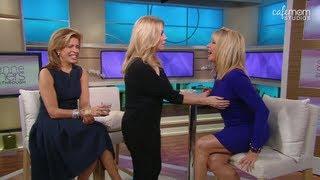 Kathie Lee & Hoda Visit Suzanne Somers Breaking Through - Episode 2