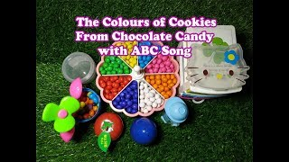 The Colours of Cookies from Chocolate Candy with ABC Song