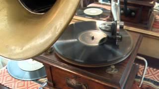 Alabama Jubilee  -  Arthur Collins & Byron Harlan  -  1916 Victor Record - Type II Talking Machne