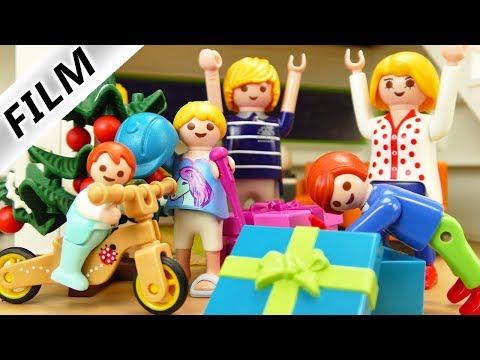 Playmobil Film deutsch KRIPPENSPIEL & BESCHERUNG Weihnachtsgeschichte mit Familie Vogel | Kinderfilm