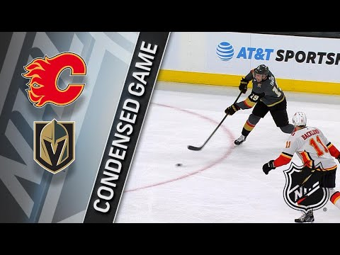 02/21/18 Condensed Game: Flames @ Golden Knights