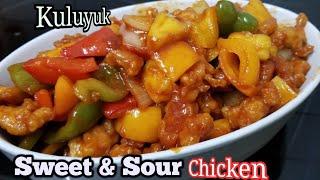 Resep Ayam Kuluyuk  Sweet and Sour Chicken.