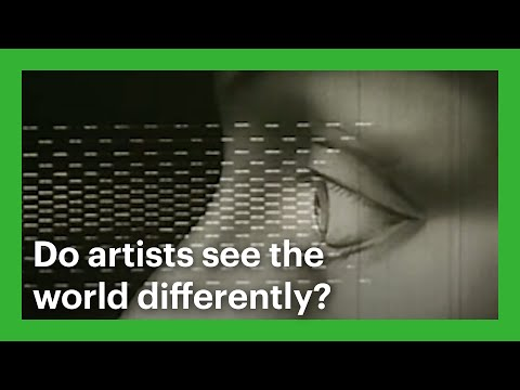 Do artists see the world differently?