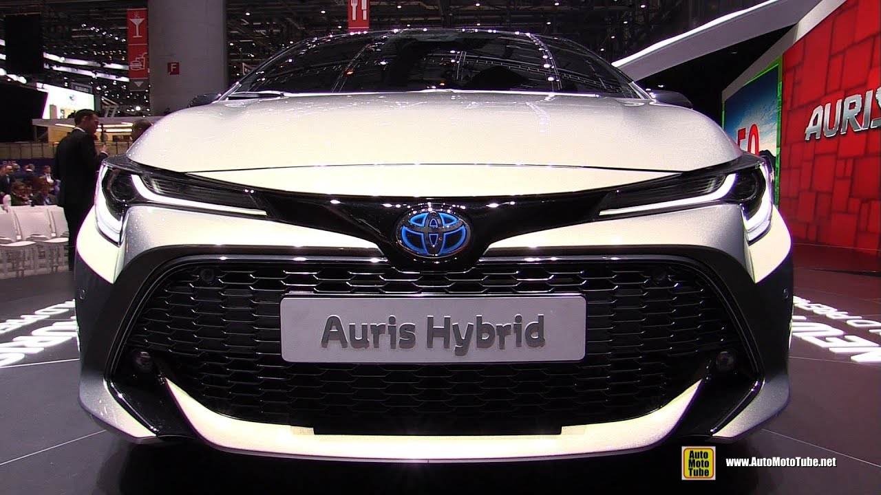 2019 toyota auris hybrid exterior walkaround debut at. Black Bedroom Furniture Sets. Home Design Ideas