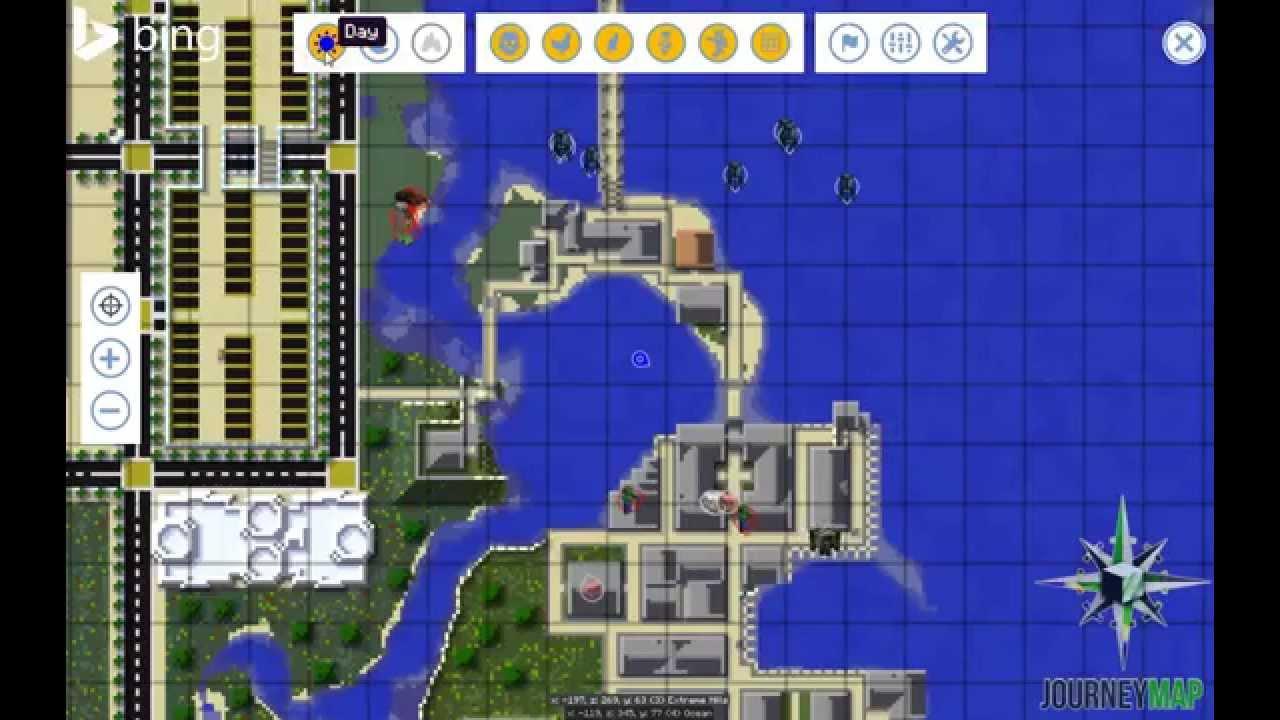 Minecraft Spielen Deutsch Journey Map Para Minecraft Bild - Journey map para minecraft 1 11 2