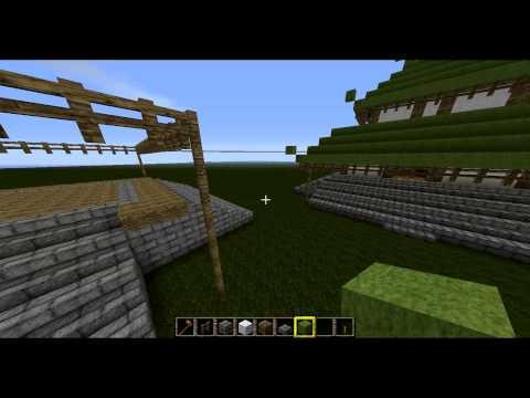 Minecraft temple chinois doovi - Maison chinoise minecraft ...