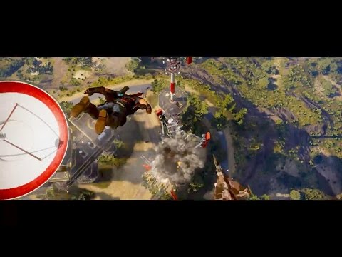 Just Cause 3 Gameplay Trailer (PC, PS4, Xbox One) (Just Cause 3)