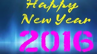Happy New Year 2016 - Beautiful Wishes in Hindi/ greetings/Whatsapp Video/नव वर्ष की शुभ कामनायें