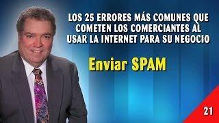 Error 21 - Enviar SPAM