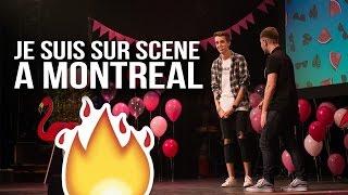 JE SUIS SUR SCENE À MONTREAL | #Vlogtobre 3