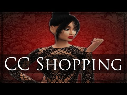 Sims 4 CC Shopping - Make Up, Urban Clothing, & Jewelry