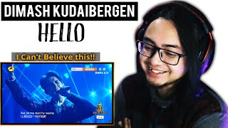 Download Mp3 Guitarist Reacts To Dimash Kudaibergen - Hello  First Time Reaction