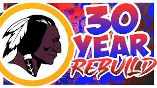 Redskins 30 Year Rebuild - Rebuilding The Washington Redskins - Madden 20 Rebuild
