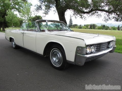 1965 lincoln continental convertible for sale youtube. Black Bedroom Furniture Sets. Home Design Ideas