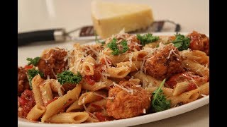 Penne With Spicy Paneer Balls In Tomato Tangy Sauce | Italian Recipes | Sanjeev Kapoor Khazana