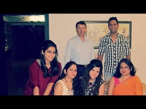MS Dhoni Family Photos || Father, Mother, Brother, Sister, Wife & Daughter!!!