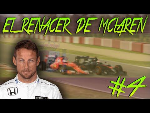 "F1 2016 ""EL RENACER DE MCLAREN HONDA"" | Jenson Button | España #4 | F1 2015 con MODS"