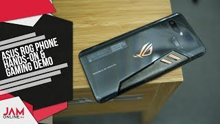 ASUS ROG Phone Hands-On and Gaming Demo
