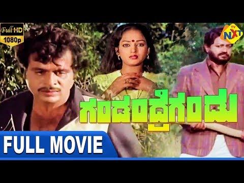 Gandandre Gandu-ಗಂಡಂದ್ರೆಗಂಡು Kannada Full Movie   Ambarish   Nalini   Jai Jagadish   TVNXT Kannada