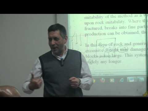 Underground Mining Methods (11.1)