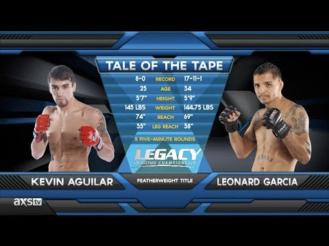 Fight of the Week: Leonard Garcia vs Kevin Aguilar Legacy 26