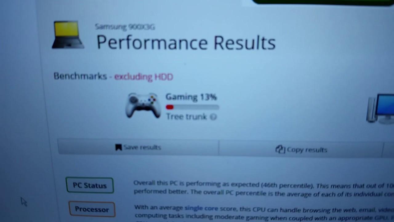 UserBenchmark Test - 2014 Samsung ATIV Book 9 UltraBook NP9003XG in 2019 -  Benchmark Test