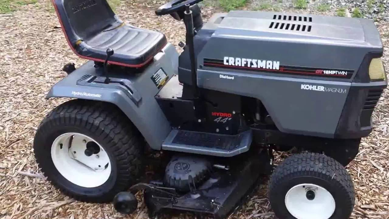 Craftsman Gt6000 Attachments : Craftsman garden tractors home design ideas and pictures